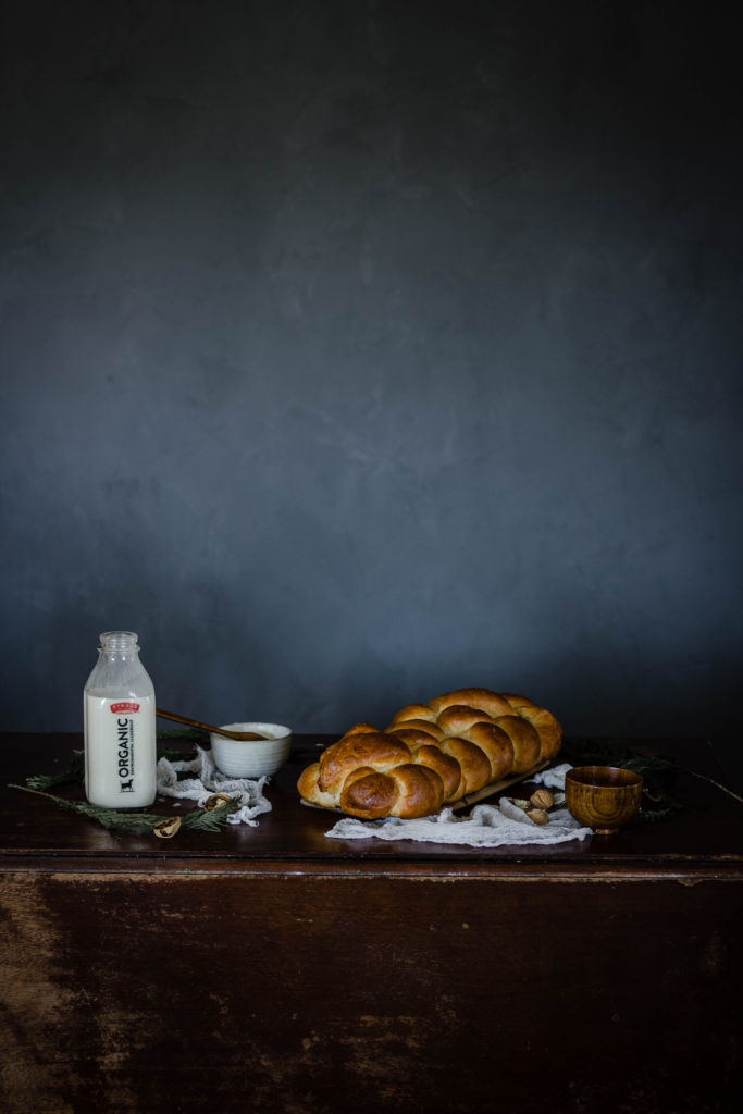 Spiced Walnut and Eggnog Challah by Kristen McSorley from Boiled Wheat Blog