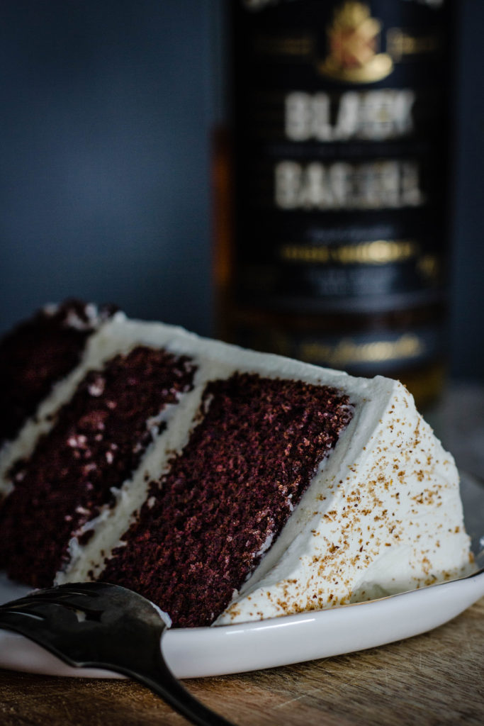 Irish Whiskey Layer Cake from Boiled Wheat Blog by Kristen McSorley, Bozeman, MT Food Photographer