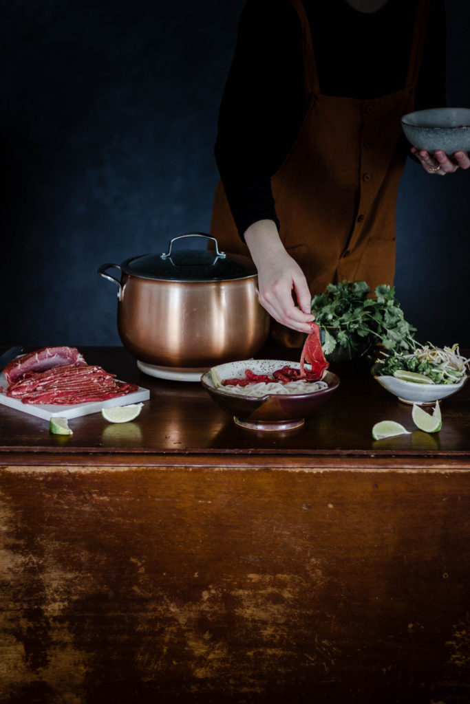 Pho Meal Prep from Boiled Wheat Blog by Kristen McSorley, Bozeman Montana Photographer