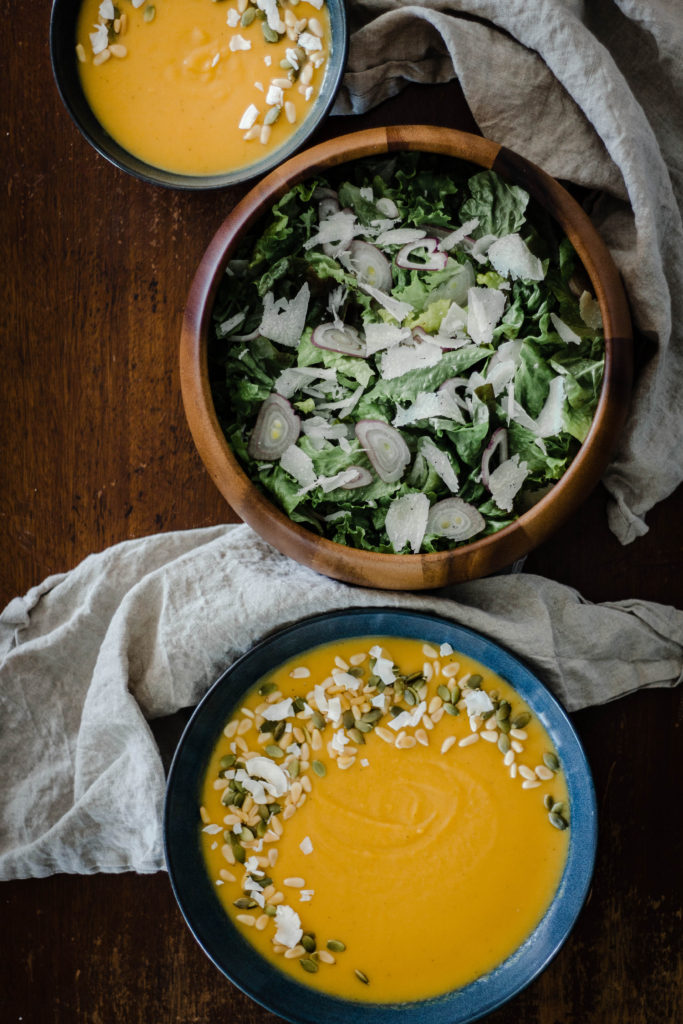 Roasted Apple and Butternut Soup from Boiled Wheat Blog by Kristen McSorley, Bozeman Montana Food Photographer