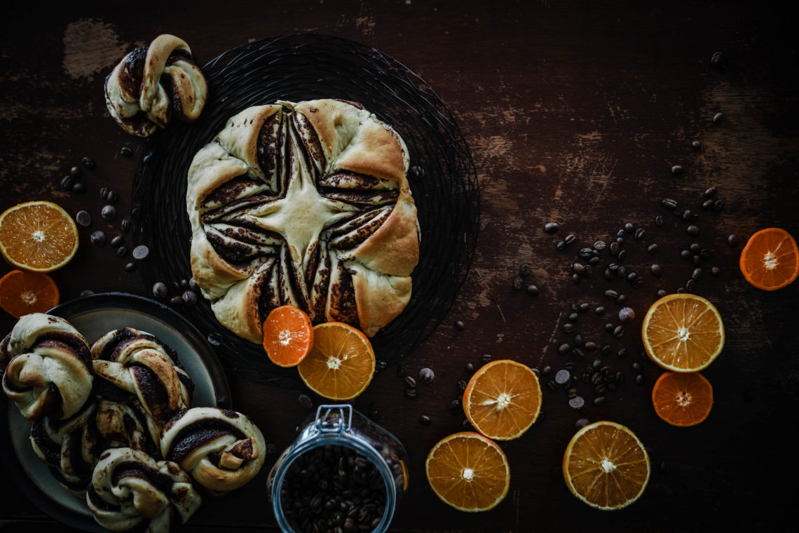 Orange and Cardamom Buns from Boiled Wheat Blog by Kristen McSorley, Montana Food Photographer