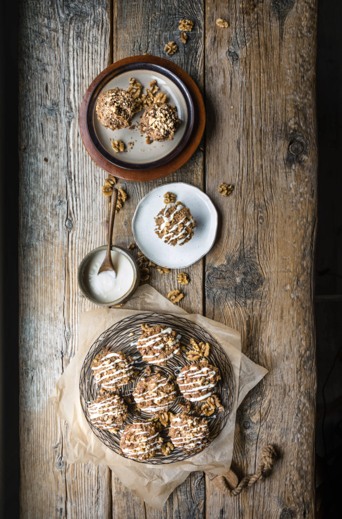 Banana Nut Muffins from Boiled Wheat Blog by Kristen McSorley, Boiled Wheat Photography, Montana food and travel photographer