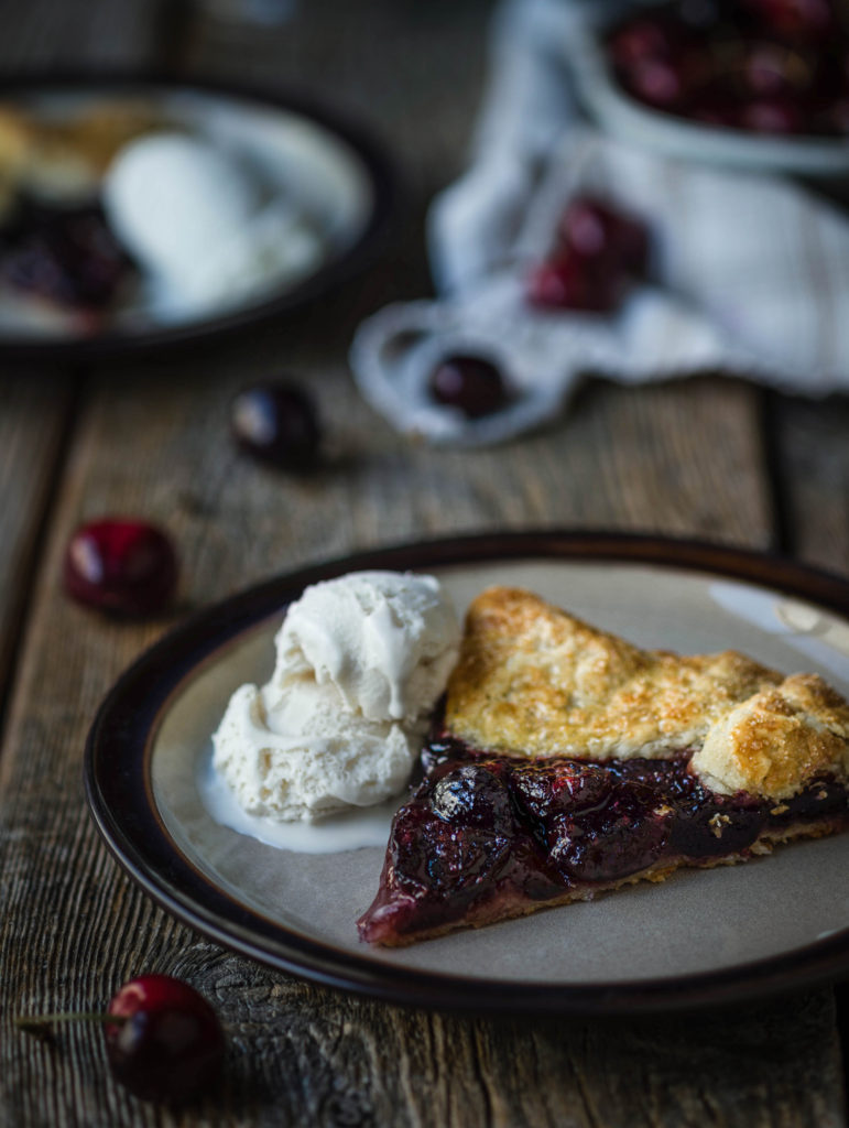 Cherry Gallete from Boiled Wheat Blog by Kristen McSorley, Montana food photographer