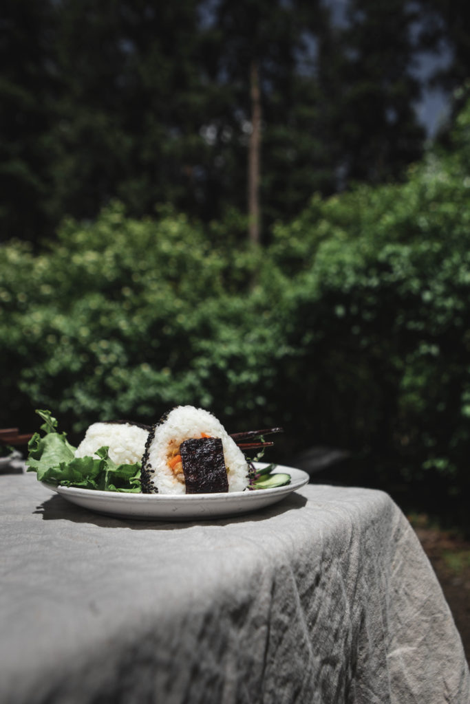 Japanese Picnic from Boiled Wheat Blog by Kristen McSorley, Boiled Wheat Photography, Montana food and travel photographer