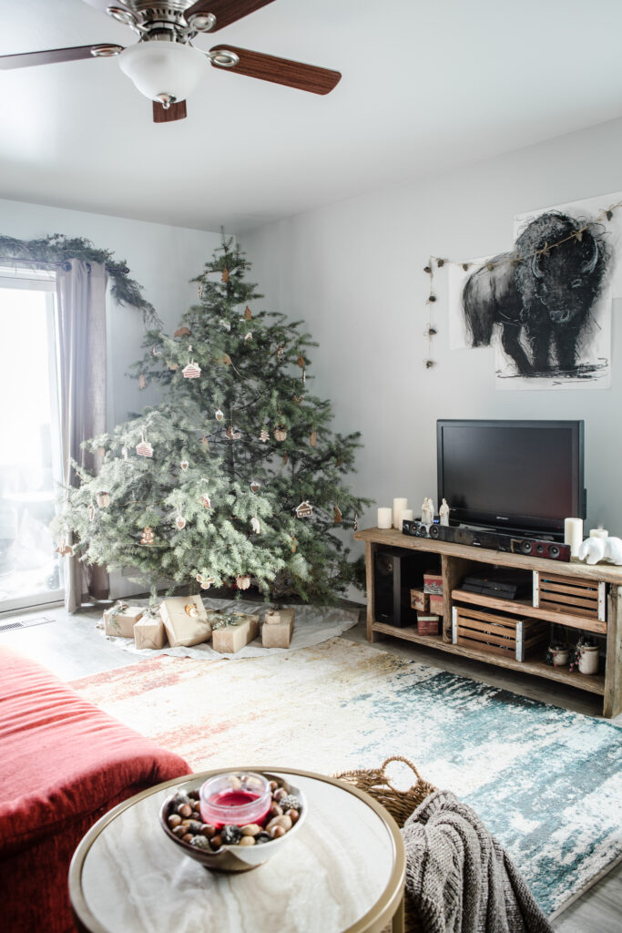 Minimalist Christmas Decor from Boiled Wheat Blog by Kristen McSorley